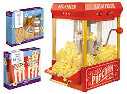 Seeking Popcorn Nostalgia Kpm200bun 2 5 Ounce Kettle Popcorn Maker