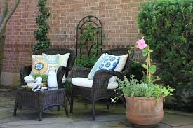 Plants For Patio by Decorated Mantel Summertime Splendor My Front Patio Flower