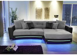 canapé d angle noir et gris canapé d angle laredo similicuir tissu noir gris weba meubles