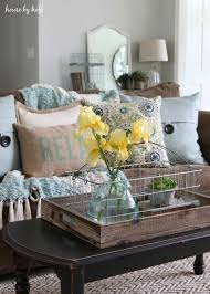 summer living room accent colors light blue and living rooms
