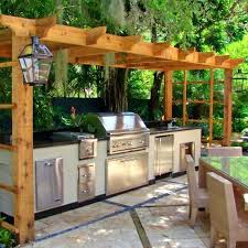 Tropical Outdoor Kitchen Designs Outdoor Kitchen On Deck Tropical Outdoor Kitchen Designs Modern