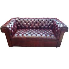 Small Leather Chesterfield Sofa Great Small Leather Sofa Chesterfield Company For Sale Brown