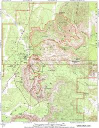 Great Loop Map Fairyland Loop Hike Bryce Canyon National Park