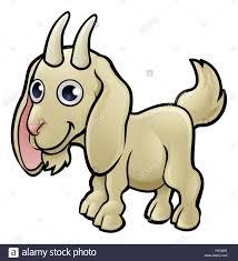 a goat farm animals cartoon character stock photo royalty free
