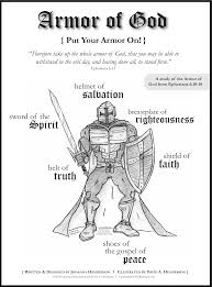 coloring download printable armor of god coloring pages