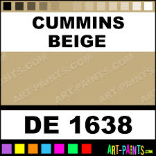 cummins beige engine enamel paints de 1638 cummins beige paint