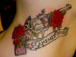 15 best gun tattoo designs with meanings styles at life