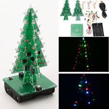 geekcreit tree led flash kit 3d diy electronic learning