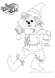 Cartoon Wizard Of Oz Coloring Pages For Kids Coloringstar Wizard Of Oz Coloring Pages