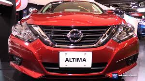 cars nissan altima 2016 nissan altima sl exterior and interior walkaround 2016