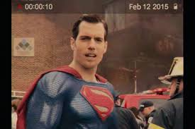 Superman Drinking Meme - the 10 most terrifying shots of superman s cgi mouth in justice league
