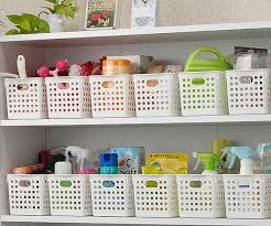 Storage Boxes Bathroom Inomata Plastic Storage Basket Storage Box Bathroom Storage Basket