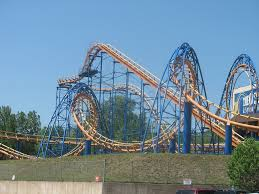 Six Flags The Great Escape Steamin U0027 Demon At Great Escape Freddie Ross Flickr