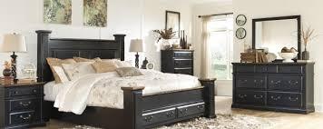 Black Poster Bed Poster Bed Ogle Furniture