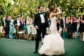 romantic outdoor black tie wedding nicole u0026 anthony at villa