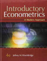 introductory econometrics a modern approach with economic