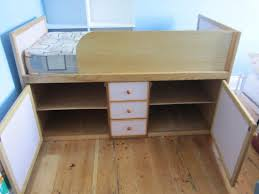 girls captain bed childrens girls single cabin captain bed wooden in hastings