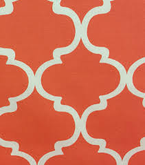 outdoor fabric quatrafoil coral joann