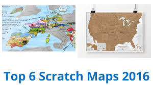 Scratch Off Map Usa by 6 Best Scratch Maps 2016 Youtube