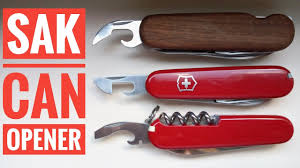 Swiss Knives Kitchen Swiss Army Knife Can Opener Youtube