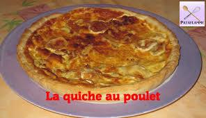 cuisiner une quiche recette la quiche au poulet chicken quiche recipe