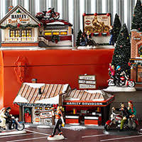 department 56 harley davidson collection department 56