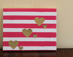 easy diy valentine u0027s day decor 2 ideas for a valentine canvas