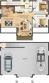 house barn combo floor plans apartments plans for garage best plans de garage et mezzanine