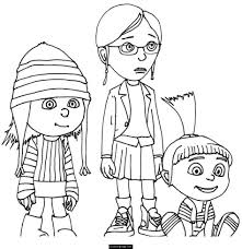 coloring pages smiley minion despicable me sbd coloring pages