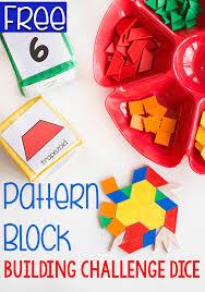pattern blocks math activities easy math activity for kids pattern blocks math activities and