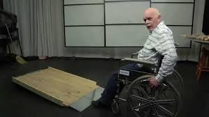 build long inexpensive residential wood wheelchair ramps in 2hr