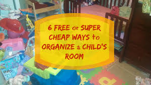 6 free or super cheap ways to organize a child u0027s room simply bubbly