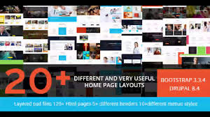 drupal different templates for different pages brezz responsive multi purpose drupal 8 4 theme themeforest