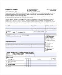 Inspection Checklist Template Excel Home Checklist Excel Templates Documents And Pdfs