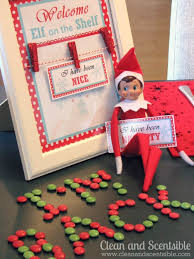 elf on the shelf welcome breakfast clean and scentsible