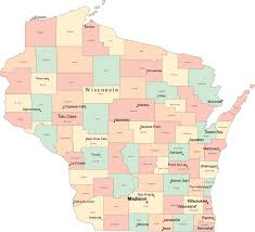 wisconsin map usa wisconsin state maps in adobe illustrator format map resources