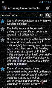 amazing universe facts offline android apps on play