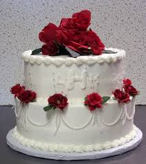 cake boss wedding cake with red roseswedwebtalks wedwebtalks