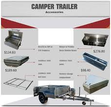 cer trailer kitchen ideas new design road soft floor cer trailer with stainless steel