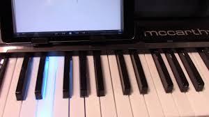 piano keyboard with light up keys mccarthy light up keys youtube