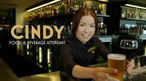 Dining Room Attendant by Cindy Food U0026 Beverage Attendant Wrest Point Hobart Youtube