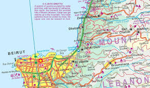 beirut on map melbourne map centre lebanon country