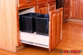 trash can cabinet insert kitchen cabinet trash can caet kitchen cabinet trash insert ljve me