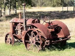 vintage lamborghini tractor painting rust model dads u0027 blog