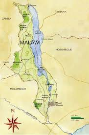 africa map malawi malawi best safari tours