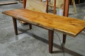 Slab Dining Room Table Extendable Expandable Dining Tables Custommade Com Live Edge Slab