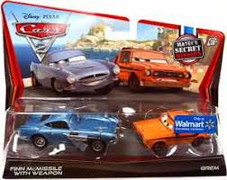 fin mcmissile toydorks mattel toys cars 2 2 pack finn mcmissile