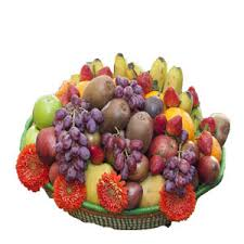 fruit basket delivery sweet me basket arrangengement the petal florists