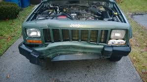 winter project wrecked 2000 jeep cherokee youtube