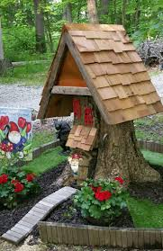 Fairies For Garden Decor Best 25 Tree Stumps Ideas On Pinterest Tree Stump Furniture